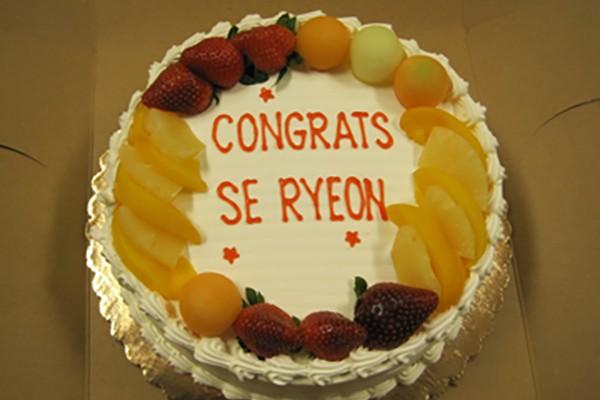 Se Ryeon Candidacy Celebration