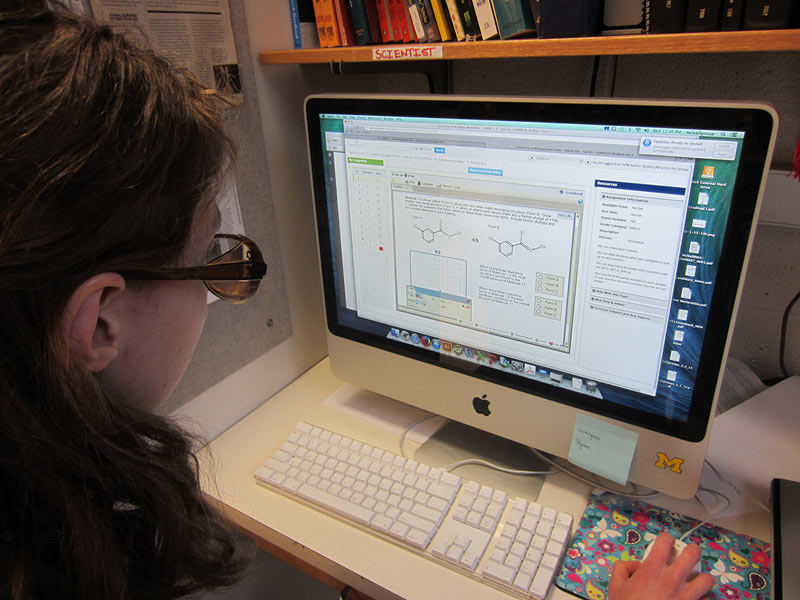 Student-Generated Instructional Materials using Sapling Learning