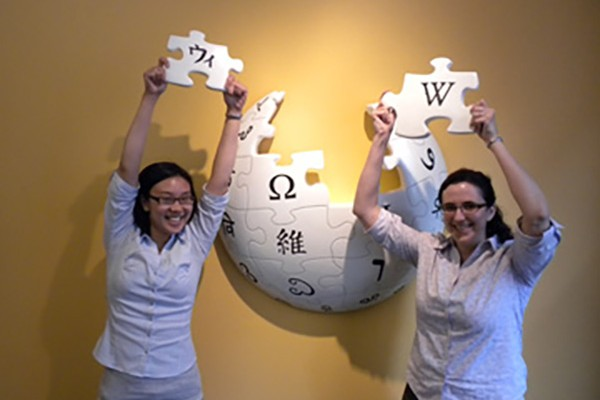 Wikimedia Foundation Visit - CA
